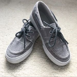 Old Navy Shoes - Old Navy Gray Loafers